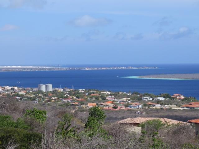 Limitless views across the length of the island, Salt mountains