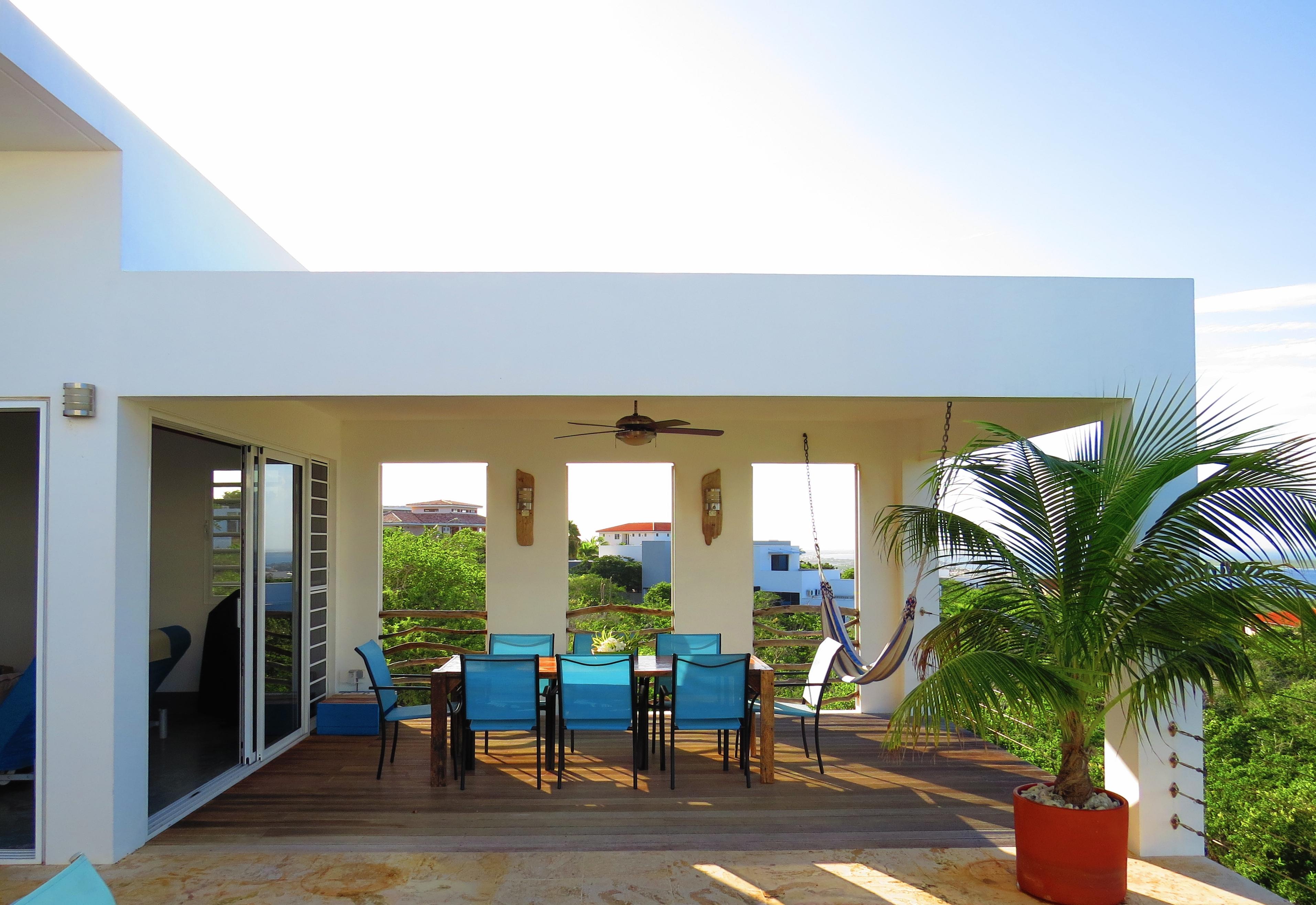 Porch of Seascape Villa Bonaire