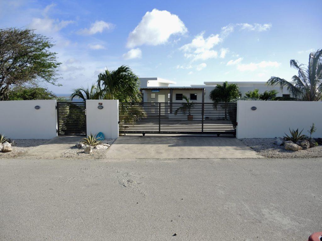 Gated entrance to paradise Seascape Villa