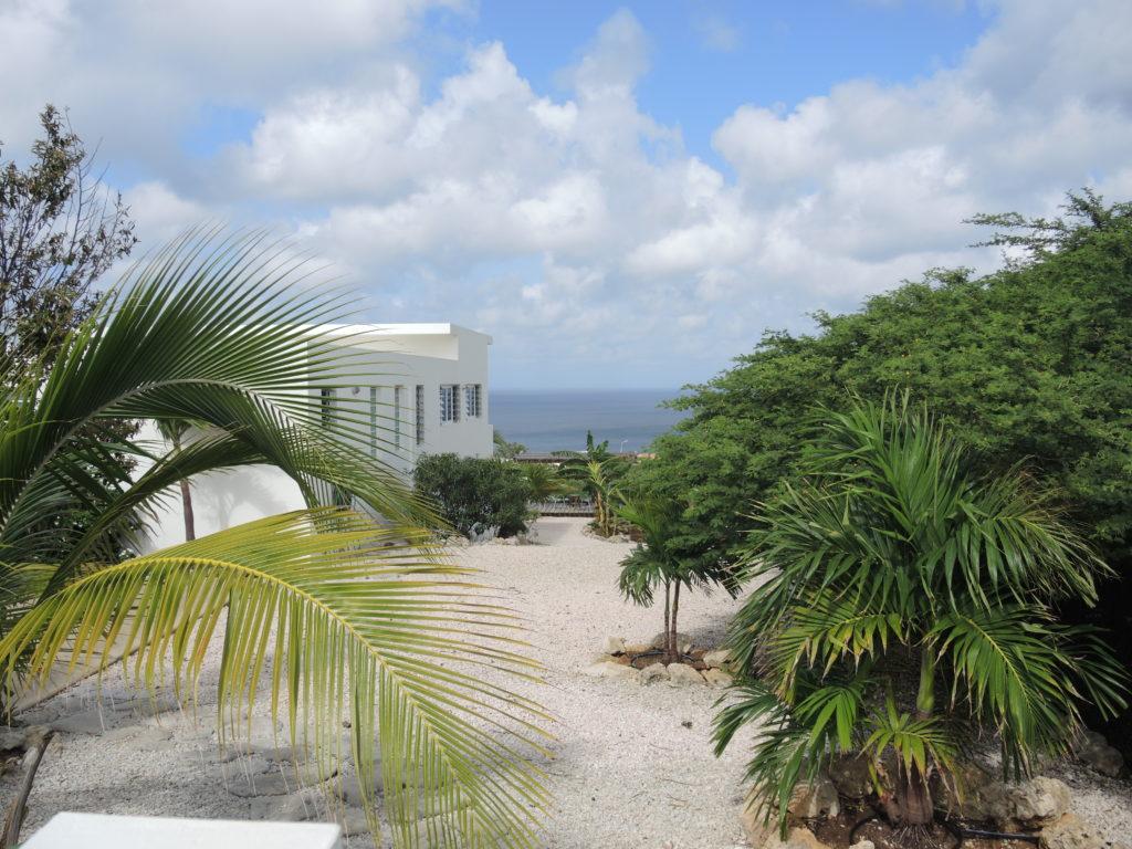 Seascape Villa garden