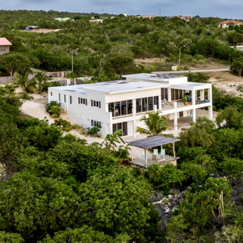 Aerial View of Seascape Villa